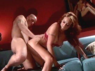 Redhead Monica Mayhem is a very sexy chick