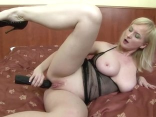 Exotic pornstar Monika Wipper in amazing dp, blonde sex scene