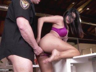 Amazing pornstar Miya Stone in Horny Foot Fetish, Brunette sex clip
