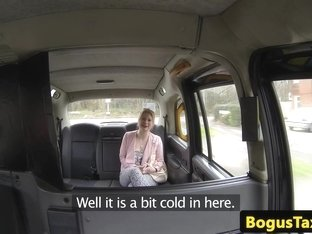 Amateur british cocksucker takes a taxi ride