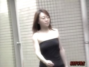 Silky small Japanese hottie is having sharking meeting with some lusty fella