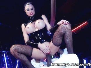 Crazy pornstar Jasmine Jae in Incredible Fetish, Latex xxx movie