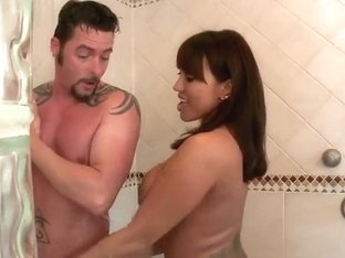 Gorgeous Ava Devine gets nasty under the shower