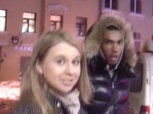 Marika in public toilet fuck video showing a slutty bitch