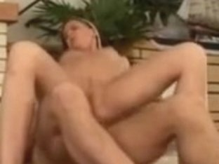 Blond white hotty getting her scoops massage and drilled on a rug
