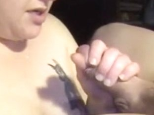 aged woman is engulfing her husbands dong