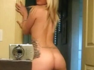 Alluring roommate strips her goodies on amateur camera