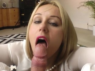 Stockings brit blow old