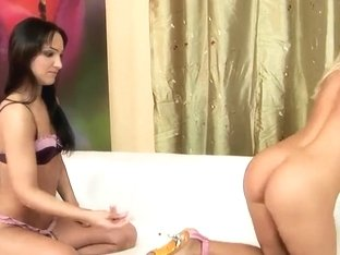 Blondie Bianka Lovely having lesbian sex