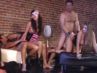 Horny pornstars Devon Lee, Mason Moore and Kirsten Price in fabulous group sex, big tits sex clip