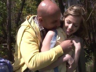 Incredible pornstar Abigaile Johnson in fabulous college, outdoor adult scene
