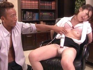 Incredible Japanese chick Yura Kasumi in Fabulous JAV censored Fetish, Hairy movie