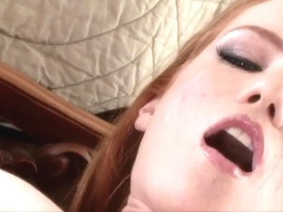 Fabulous pornstar Heather Carolin in incredible solo, redhead adult scene