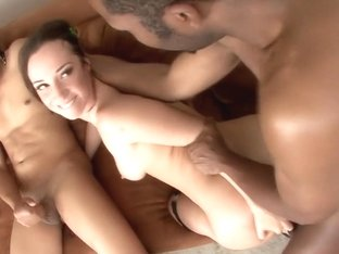 Crazy pornstar Jada Stevens in exotic gangbang, blowjob adult scene