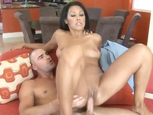 Tight ass Cassandra Cruz pleasures Charles Dera