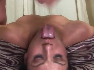 Brunette Hair Nadia Styles Face Drilled