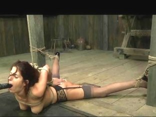 Fetish Bondman Lavender Rayne Anal Hooked in Slavery