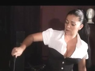Female-Dom Tatjana - Whipping torment