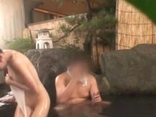 Hot Girl In Mans Hot Spring