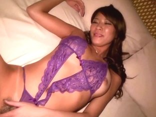 Blindfolded nippon babe cumsprayed on bigtits