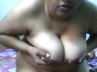 Indian cute amateur BBW girl with huge tits all naked o