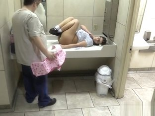 Wet Diaper Changed at Mall