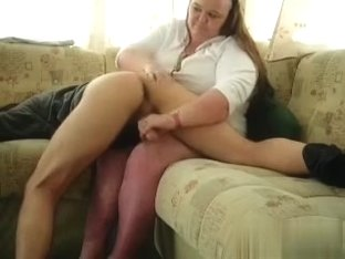 A raunchy spanking and teaseing me