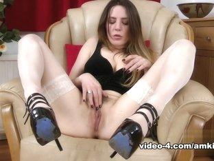Incredible pornstars Ashley Adams, Samantha Bentley in Amazing Stockings, Masturbation porn video