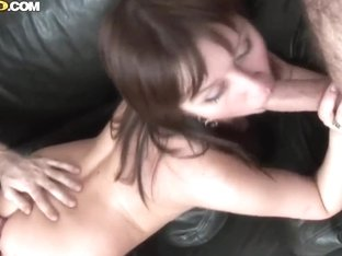 Hardcore scene with experienced curvy prostitute Aida