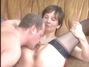 Mature cunt needs cock