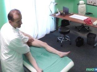 Fabulous pornstar in Amazing Voyeur, Medical xxx scene