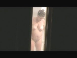 Mom Through The Bathroom Window 01