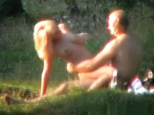 Naturist fucking in the nature