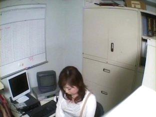 Incredible Jap secretary crammed in voyeur hardcore video