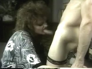 Hung stud shoves his hard cock down girls throat