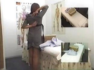Irresistible Jap hottie having fun in voyeur massage movie