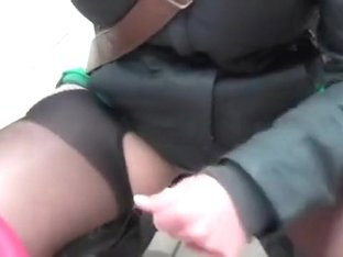 Dirty minded girlfriend pissing in the toy store