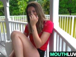 Nasty brunette girl Sabrina Paige