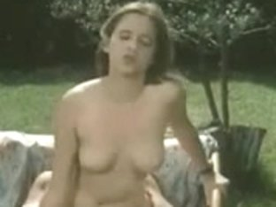 Classic British doxy Louise acquires screwed in the garden