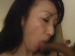 Hot mature Asian babe gets buzzed and fucked hard