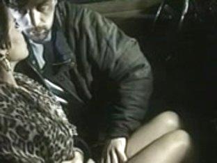 Horny Arabian slut fucked in the car in vintage porno