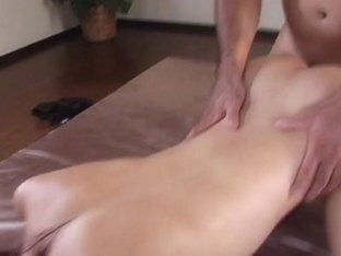 A couple of perverted stud pleasing a horny chick's snutch