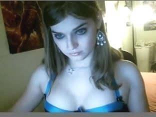 Showing  my hot bust on my free amateur webcam