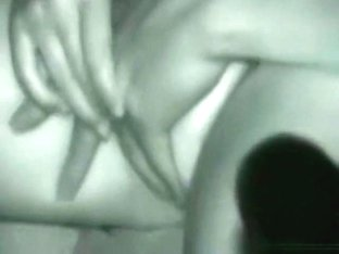Voyeur tapes a guy fingering his gf in his car at night