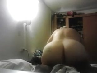 Amateurs big beautiful woman likes to ride darksome jock