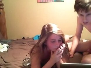 Night at Home With Horny Girlfriend