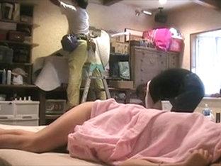 My forgotten cam made a voyeur clip