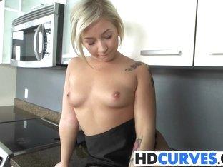 Sexy Coochie In The Kitchen