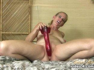 Amazing pornstar Big Red in Fabulous Masturbation, Mature sex movie