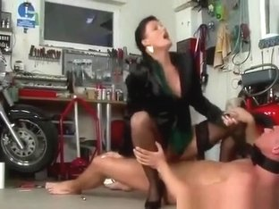 Domina rules over a pathetic mechanic